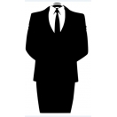 Anonymous Suit Decal