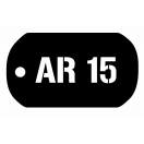 AR 15 Dog Tag