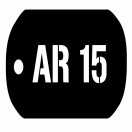 AR15 Dog Tag Tee