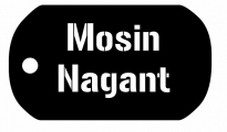 Mosin Nagant Dog Tag Tee