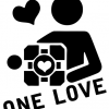 Portal Companion Cube One Love