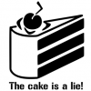 Portal The Cake Is A Lie!