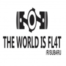 THE WORLD IS FL4T /r/subaru decal set