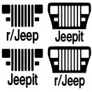 Jeepit reddit YJ MEGA decal pack