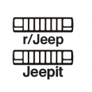 Jeepit reddit XJ grill decal pack