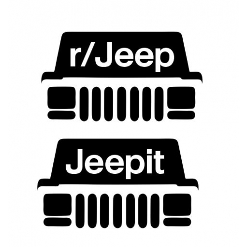 Jeepit reddit XJ front end decal pack