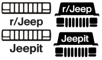 Jeepit reddit XJ Mega decal pack