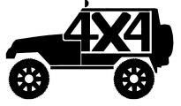 Jeep 4x4 Decal