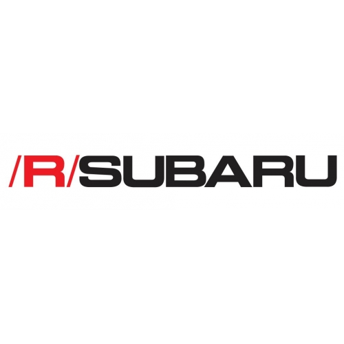 /R/SUBARU decal set