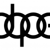 Dope Audi decal set of 3