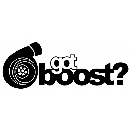 Got boost decal set of 3