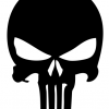 Punisher Decal set of 3