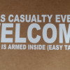 Mass Casualty decal