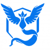 Pokémon Go Blue Team Mystic Decal set