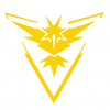 Pokémon Go Yellow Team Instinct Decal set