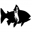 Wyoming Fish Decal
