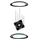 Portal Cube Decal Set