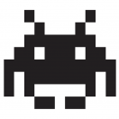Space Invader Decal Set