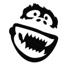Yeti Face Decal Set